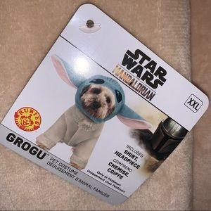 Star Wars Baby Yoda Grogu Dog Costume in XXL with Headpiece